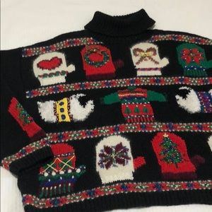 Christmas sweater with jingle bells!
